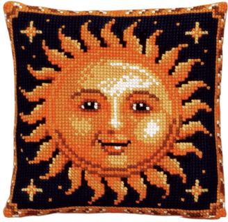 """Набор для вышивания подушки Pako """"Солнце"""", 40 х 40 см"""