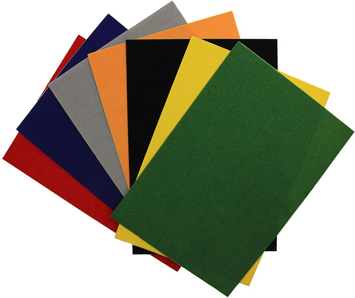 Бархатная бумага Fancy, 7 цветов. FD010013 канцелярия fancy creative набор цветной фольгированной бумаги a4 5 цв 5 л