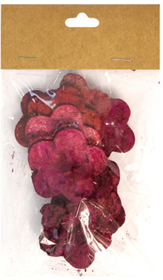 Декоративные элементы Dongjiang Art Цветок, цвет: розовый, диаметр 4,5 см, 12 шт декоративный элемент dongjiang art сердце цвет фуксия 10 шт