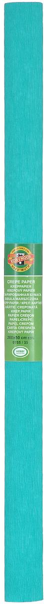 """Гофрированная бумага """"Koh-I-Noor"""" - прекрасный материал для декорирования, изготовления эффектной упаковки и различных поделок. Бумага прекрасно держит форму, не пачкает руки, отлично крепится и замечательно подходит для изготовления праздничной упаковки для цветов."""