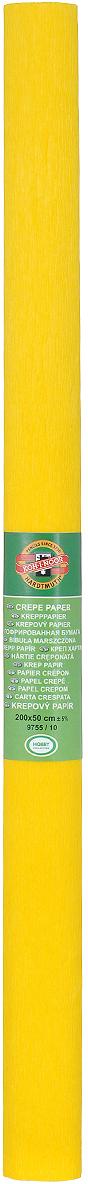 Бумага гофрированная Koh-I-Noor, цвет: темно-желтый, 50 см x 2 м7701655_28 т.сапфирГофрированная бумага Koh-I-Noor - прекрасный материал для декорирования, изготовления эффектной упаковки и различных поделок. Бумага прекрасно держит форму, не пачкает руки, отлично крепится и замечательно подходит для изготовления праздничной упаковки для цветов.