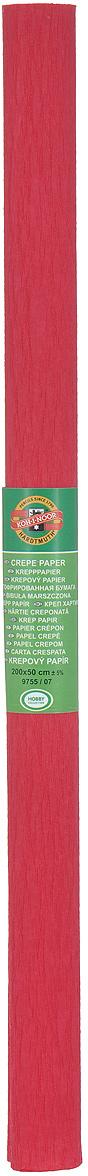 Бумага гофрированная Koh-I-Noor, цвет: темно-красный, 50 см x 2 м7701655_03 св.розовыйГофрированная бумага Koh-I-Noor - прекрасный материал для декорирования, изготовления эффектной упаковки и различных поделок. Бумага прекрасно держит форму, не пачкает руки, отлично крепится и замечательно подходит для изготовления праздничной упаковки для цветов.