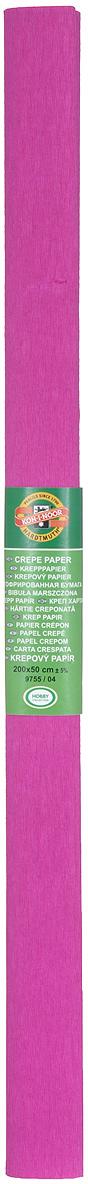 Бумага гофрированная Koh-I-Noor, цвет: фуксия, 50 см x 2 м9755/04Гофрированная бумага Koh-I-Noor - прекрасный материал для декорирования, изготовления эффектной упаковки и различных поделок. Бумага прекрасно держит форму, не пачкает руки, отлично крепится и замечательно подходит для изготовления праздничной упаковки для цветов.