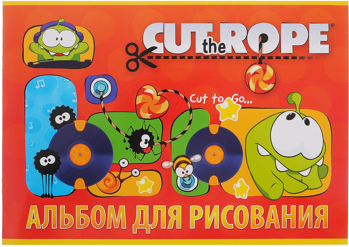 Hatber Альбом для рисования Cut the Rope, цвет: красный, 24 листа24А4B_12154Альбом для рисования Hatber Cut the Rope непременно порадует маленького художника и вдохновит его на творчество. Альбом изготовлен из белоснежной офсетной бумаги с яркой обложкой из мелованного картона, оформленной изображением героев Cut the Rope.Высокое качество бумаги позволяет рисовать в альбоме карандашами, фломастерами, акварельными и гуашевыми красками.Рекомендуемый возраст: 0+