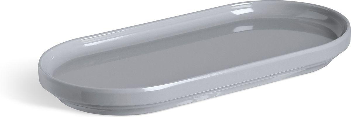 Органайзер для мелочей Umbra Step, цвет: серый, 10,8 х 25,4 х 3,2 см024001-149Во всём должен быть порядок! Лаконичный небольшой поднос из литого меламина для разных мелочей в ванной. Сложите в него кольца и браслеты, когда моете руки, поставьте лак для ногтей или тюбики с блеском для губ и тушью, чтобы они не скатывались на пол. Прекрасно сочетается с другими предметами из коллекции Step. Дизайнер Umbra Studio.