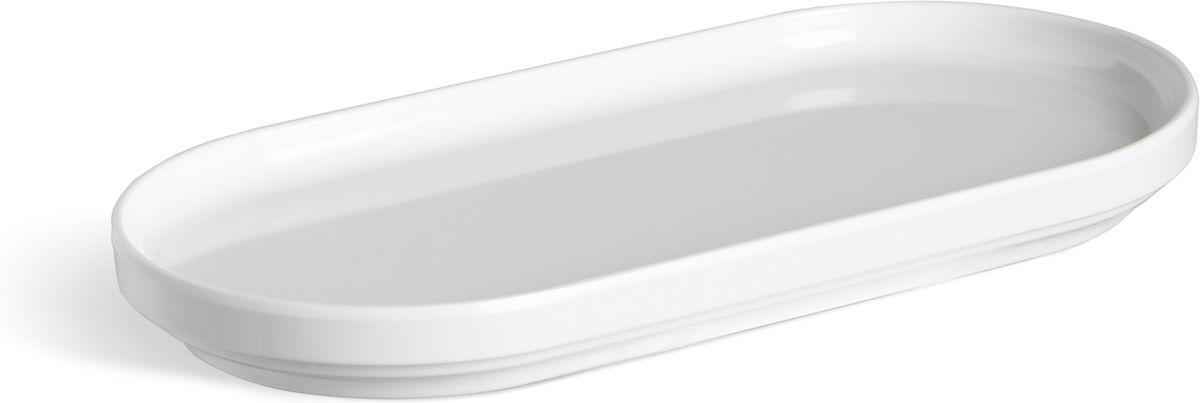 Органайзер для мелочей Umbra Step, цвет: белый, 10,8 х 25,4 х 3,2 см024001-660Во всём должен быть порядок! Лаконичный небольшой поднос из литого меламина для разных мелочей в ванной. Сложите в него кольца и браслеты, когда моете руки, поставьте лак для ногтей или тюбики с блеском для губ и тушью, чтобы они не скатывались на пол. Сочетается с другими предметами из коллекции Step. Дизайнер Umbra Studio.