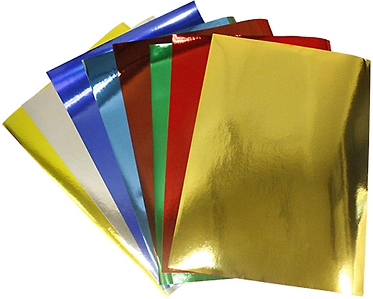 """Бумага Бэстекс """"Металлик"""", 5 листов. 545635, Bestex"""