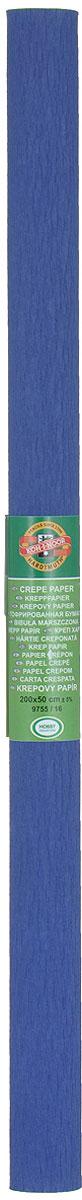 Бумага гофрированная Koh-I-Noor, цвет: темно-синий, 50 см x 2 м9755/16Гофрированная бумага Koh-I-Noor - прекрасный материал для декорирования, изготовления эффектной упаковки и различных поделок. Бумага прекрасно держит форму, не пачкает руки, отлично крепится и замечательно подходит для изготовления праздничной упаковки для цветов.