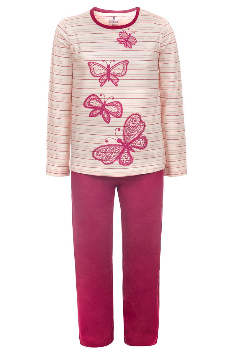Пижама для девочки Baykar, цвет: мультиколор. N9342209. Размер 158/160N9342209