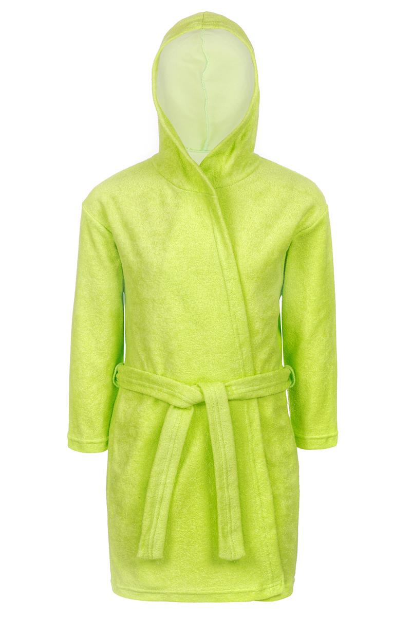 Халат для мальчика M&D, цвет: светло-зеленый. Х75514. Размер 104Х75514