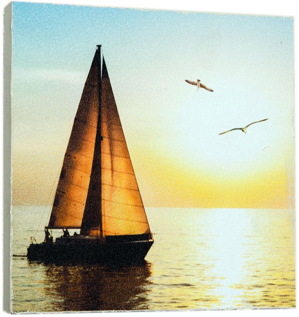 Картина Mister Poster Красивая яхта, 14,5 х 14,5 см0156-15-15Картина Mister Poster - это высококачественная репродукция на деревянной раме. Лицевая поверхность имитирует штукатурку или натуральный холст, края окрашены вручную специальным декоративным составом.Современные технологии, уникальное оборудование и оригинальные чернила, используемые при изготовлении, делают постер устойчивым к выцветанию, а также гарантируют стойкость к воздействию негативных внешних факторов. Интерьер дома и офиса, в котором находится человек, в значительной степени влияет на его настроение и работоспособность. Правильное оформление интерьера создает благоприятный психологический климат, улучшает настроение и мотивирует. Добавьте «красок» в ваш интерьер и, возможно, в вашу жизнь.