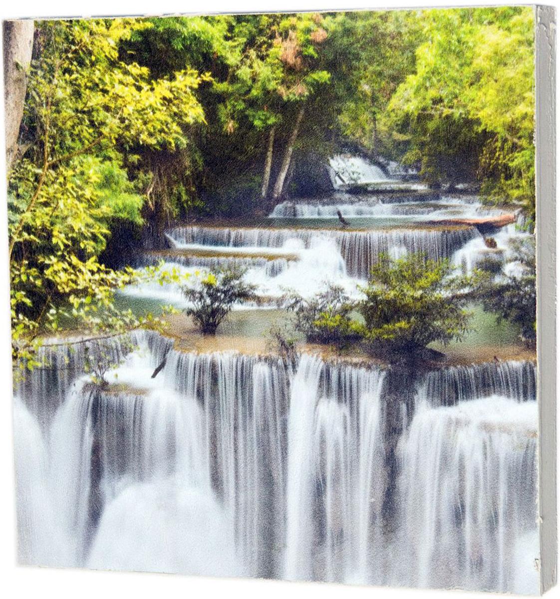 Картина Mister Poster Могущественный водопад, 22 х 22 см0264-22-22Картина Mister Poster - это высококачественная репродукция на деревянной раме. Лицевая поверхность имитирует штукатурку или натуральный холст, края окрашены вручную специальным декоративным составом.Современные технологии, уникальное оборудование и оригинальные чернила, используемые при изготовлении, делают постер устойчивым к выцветанию, а также гарантируют стойкость к воздействию негативных внешних факторов. Интерьер дома и офиса, в котором находится человек, в значительной степени влияет на его настроение и работоспособность. Правильное оформление интерьера создает благоприятный психологический климат, улучшает настроение и мотивирует. Добавьте «красок» в ваш интерьер и, возможно, в вашу жизнь.