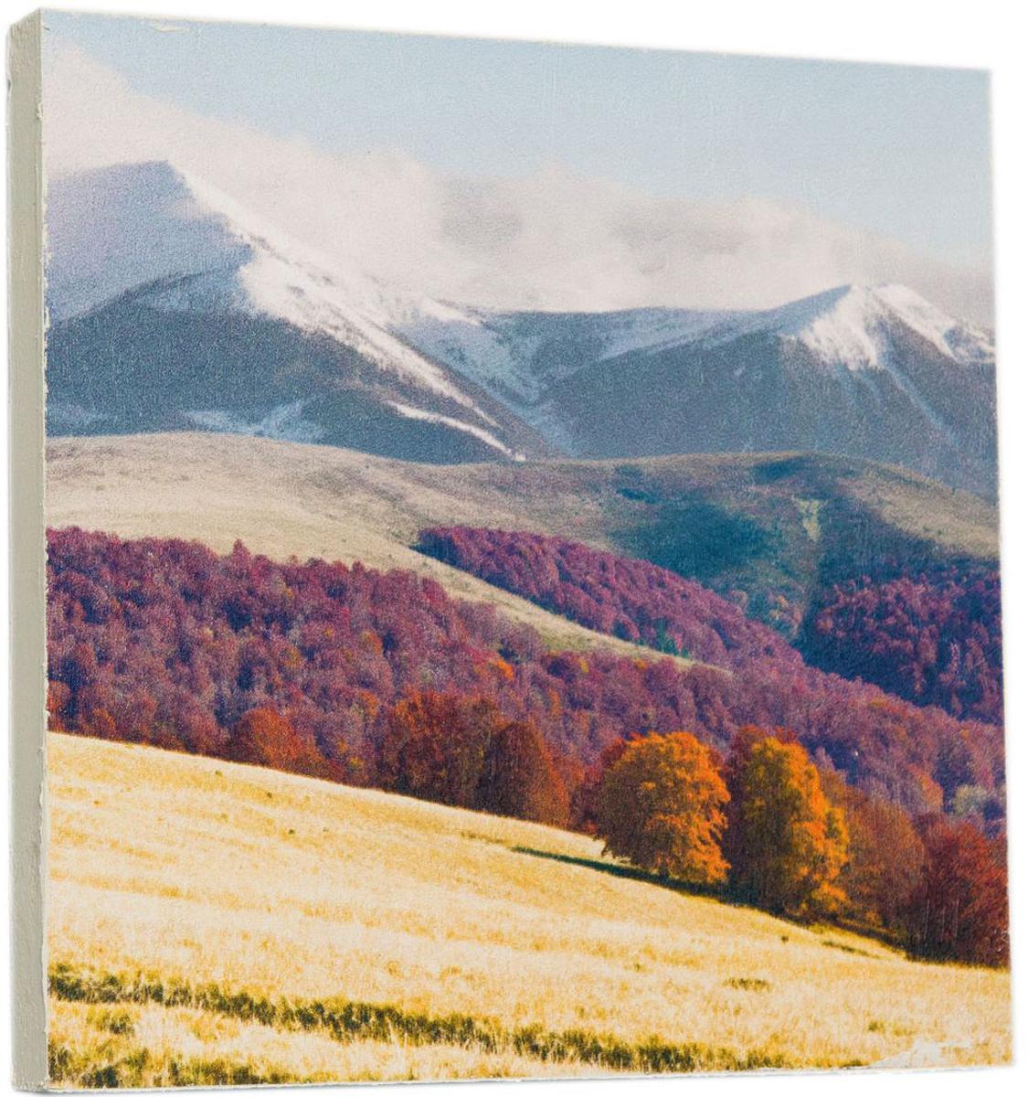 Картина Mister Poster Альпы, 22 х 22 см0272-22-22Картина Mister Poster - это высококачественная репродукция на деревянной раме. Лицевая поверхность имитирует штукатурку или натуральный холст, края окрашены вручную специальным декоративным составом.Современные технологии, уникальное оборудование и оригинальные чернила, используемые при изготовлении, делают постер устойчивым к выцветанию, а также гарантируют стойкость к воздействию негативных внешних факторов. Интерьер дома и офиса, в котором находится человек, в значительной степени влияет на его настроение и работоспособность. Правильное оформление интерьера создает благоприятный психологический климат, улучшает настроение и мотивирует. Добавьте «красок» в ваш интерьер и, возможно, в вашу жизнь.