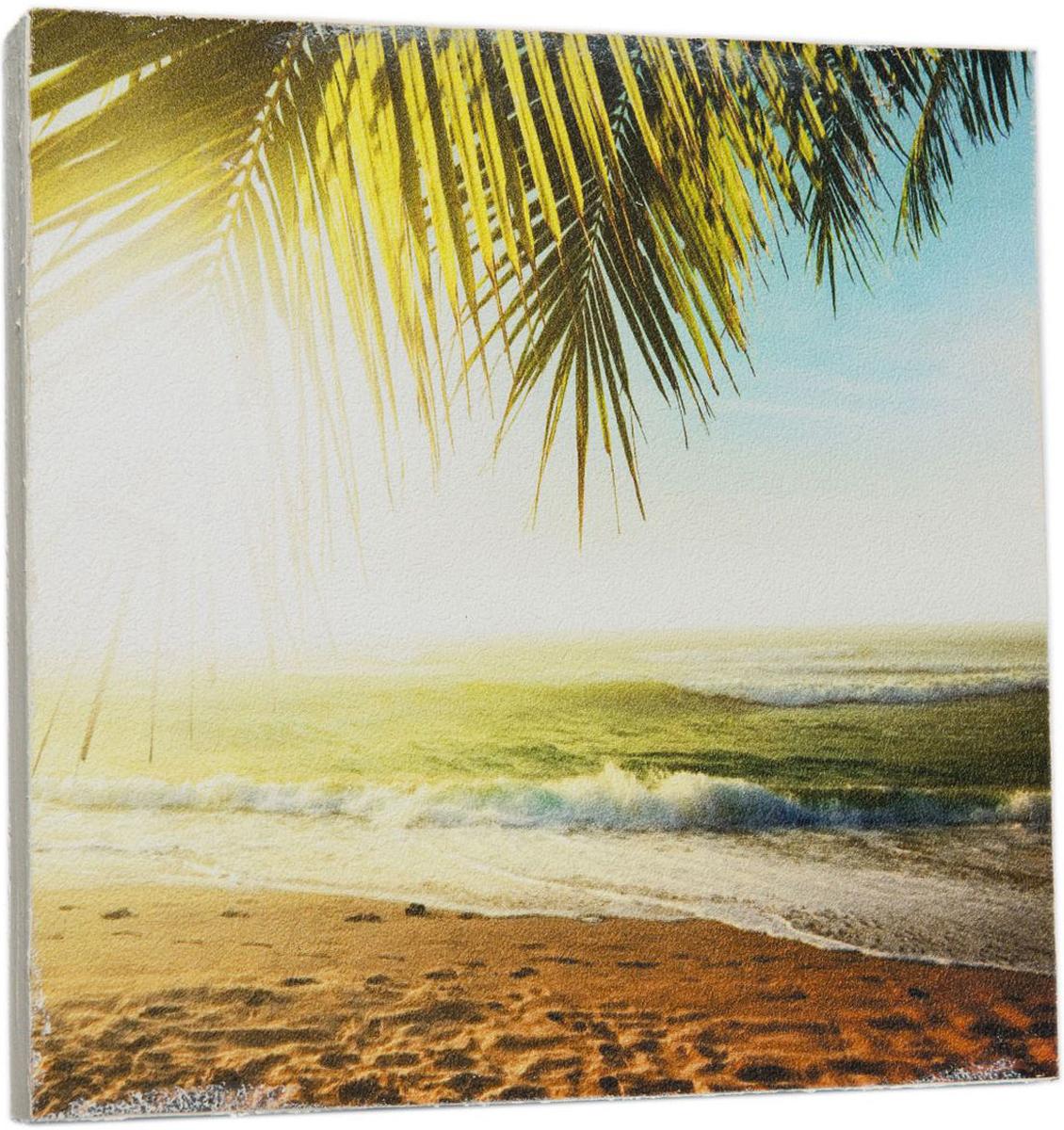 Картина Mister Poster Океан в солнечных лучах , 22 х 22 см0274-22-22Картина Mister Poster - это высококачественная репродукция на деревянной раме. Лицевая поверхность имитирует штукатурку или натуральный холст, края окрашены вручную специальным декоративным составом.Современные технологии, уникальное оборудование и оригинальные чернила, используемые при изготовлении, делают постер устойчивым к выцветанию, а также гарантируют стойкость к воздействию негативных внешних факторов. Интерьер дома и офиса, в котором находится человек, в значительной степени влияет на его настроение и работоспособность. Правильное оформление интерьера создает благоприятный психологический климат, улучшает настроение и мотивирует. Добавьте «красок» в ваш интерьер и, возможно, в вашу жизнь.