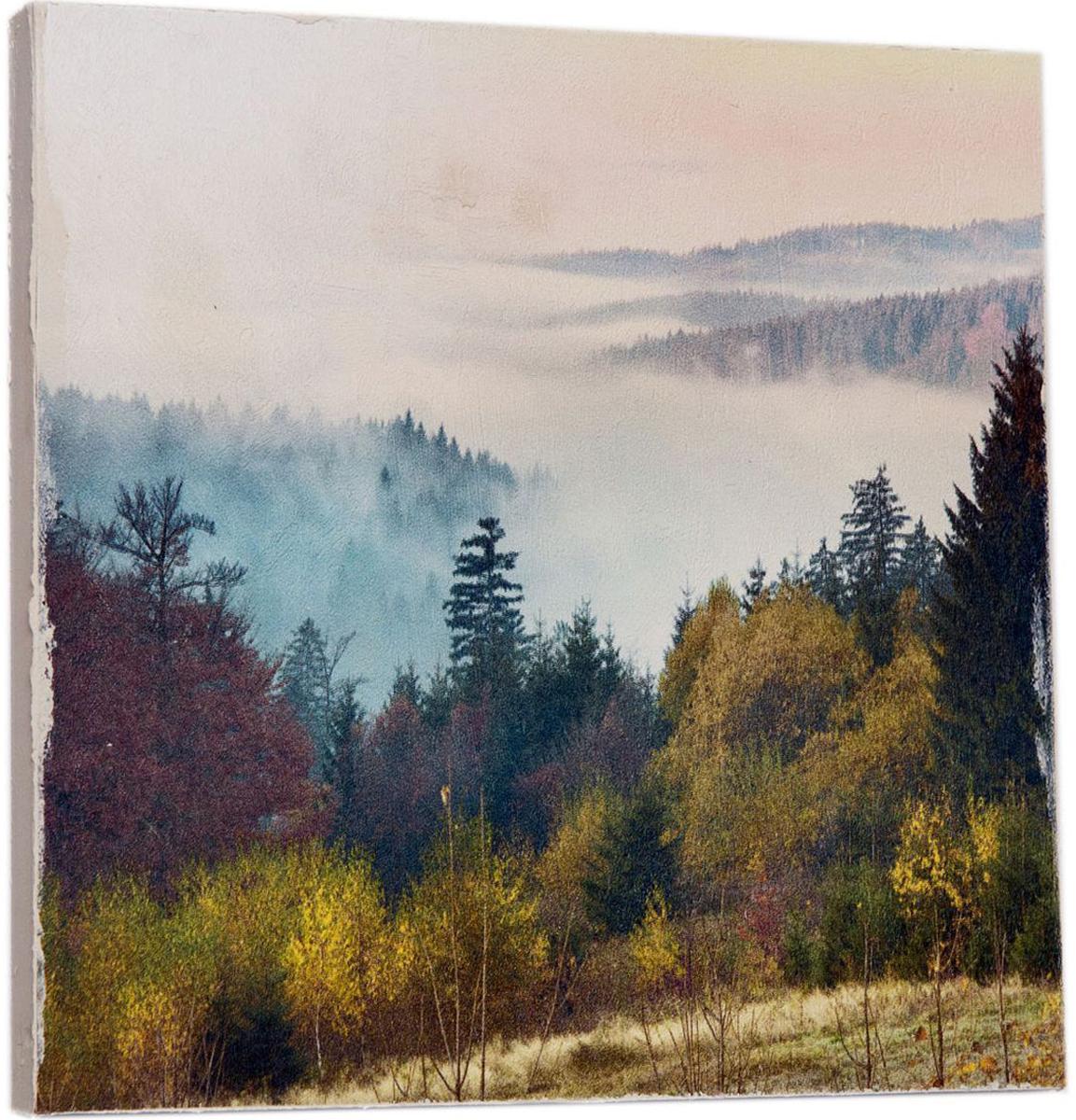 Картина Mister Poster Красивый лес, 22 х 22 см0278-22-22Картина Mister Poster - это высококачественная репродукция на деревянной раме. Лицевая поверхность имитирует штукатурку или натуральный холст, края окрашены вручную специальным декоративным составом.Современные технологии, уникальное оборудование и оригинальные чернила, используемые при изготовлении, делают постер устойчивым к выцветанию, а также гарантируют стойкость к воздействию негативных внешних факторов. Интерьер дома и офиса, в котором находится человек, в значительной степени влияет на его настроение и работоспособность. Правильное оформление интерьера создает благоприятный психологический климат, улучшает настроение и мотивирует. Добавьте «красок» в ваш интерьер и, возможно, в вашу жизнь.