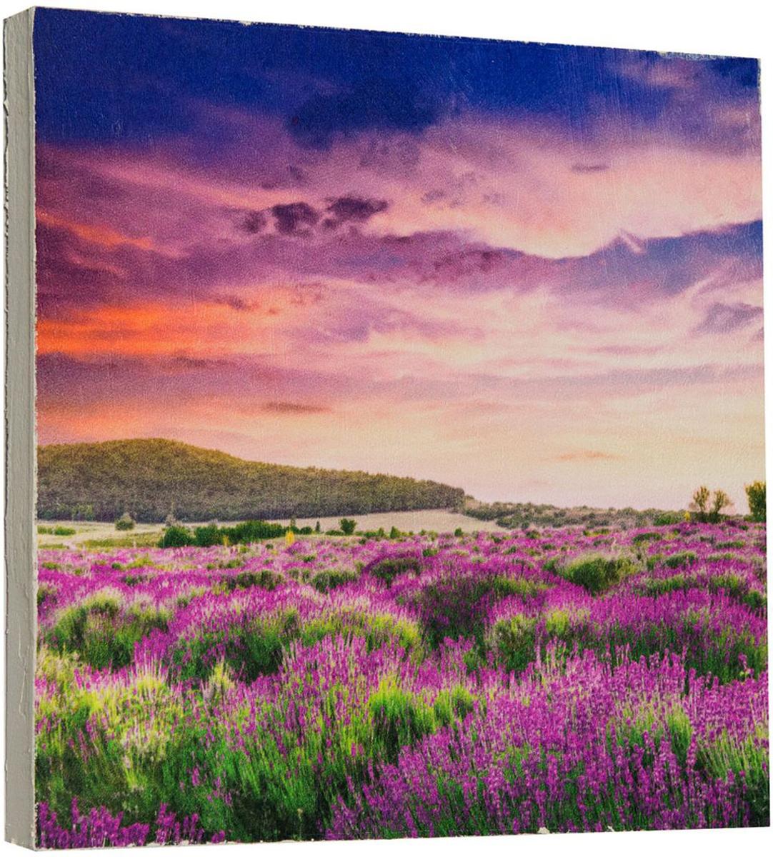 Картина Mister Poster Цветочное поле, 22 х 22 см0281-22-22Картина Mister Poster - это высококачественная репродукция на деревянной раме. Лицевая поверхность имитирует штукатурку или натуральный холст, края окрашены вручную специальным декоративным составом. Современные технологии, уникальное оборудование и оригинальные чернила, используемые при изготовлении, делают постер устойчивым к выцветанию, а также гарантируют стойкость к воздействию негативных внешних факторов. Интерьер дома и офиса, в котором находится человек, в значительной степени влияет на его настроение и работоспособность. Правильное оформление интерьера создает благоприятный психологический климат, улучшает настроение и мотивирует. Добавьте «красок» в ваш интерьер и, возможно, в вашу жизнь.