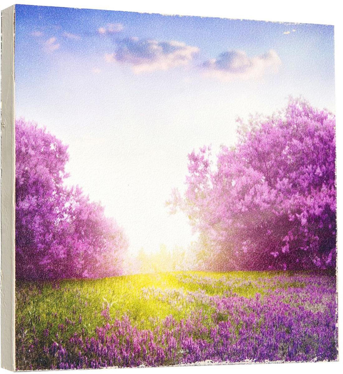 Картина Mister Poster Цветочные сады в солнечных лучах, 22 х 22 см0289-22-22Картина Mister Poster - это высококачественная репродукция на деревянной раме. Лицевая поверхность имитирует штукатурку или натуральный холст, края окрашены вручную специальным декоративным составом.Современные технологии, уникальное оборудование и оригинальные чернила, используемые при изготовлении, делают постер устойчивым к выцветанию, а также гарантируют стойкость к воздействию негативных внешних факторов. Интерьер дома и офиса, в котором находится человек, в значительной степени влияет на его настроение и работоспособность. Правильное оформление интерьера создает благоприятный психологический климат, улучшает настроение и мотивирует. Добавьте «красок» в ваш интерьер и, возможно, в вашу жизнь.