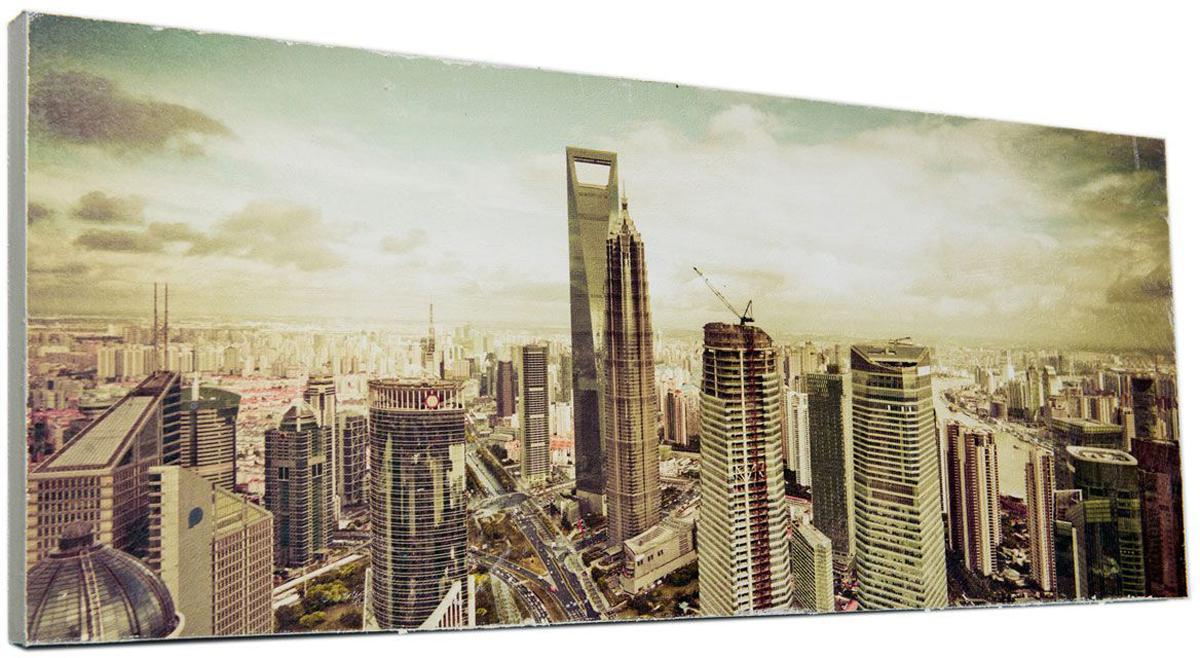Картина Mister Poster Величественные высотки, 60 х 24 см0342-24-60Картина Mister Poster - это высококачественная репродукция на деревянной раме. Лицевая поверхность имитирует штукатурку или натуральный холст, края окрашены вручную специальным декоративным составом.Современные технологии, уникальное оборудование и оригинальные чернила, используемые при изготовлении, делают постер устойчивым к выцветанию, а также гарантируют стойкость к воздействию негативных внешних факторов. Интерьер дома и офиса, в котором находится человек, в значительной степени влияет на его настроение и работоспособность. Правильное оформление интерьера создает благоприятный психологический климат, улучшает настроение и мотивирует. Добавьте «красок» в ваш интерьер и, возможно, в вашу жизнь.