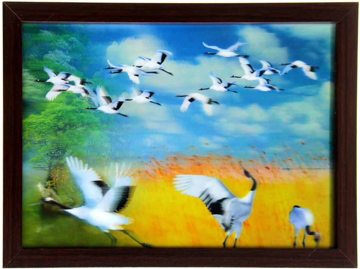 Картина объемная Sima-land Аисты, 25 см х 35 см картина объемная sima land морское дно 30 см х 40 см