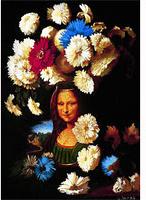 Картина-репродукция без рамки Цветы в честь Леонардо, 1995, 50 х 60 см 1584115841Картина-репродукция Цветы в честь Леонардо, 1995 дополнит интерьер любого помещения, а также может стать изысканным подарком для Ваших друзей и близких. Благодаря оригинальному дизайну картина может использоваться для оформления любых интерьеров, как то: гостиная, спальня, кухня, прихожая, детская или офис. Картина выполнена масляной печатью с ручной подрисовкой.Такая картина - вдохновляющее декоративное решение, привносящее в интерьер нотки творчества и изысканности! Характеристики: Материал:МДФ, холст. Размер:50 см х 60 см. Изготовитель:Китай. Артикул:15841.