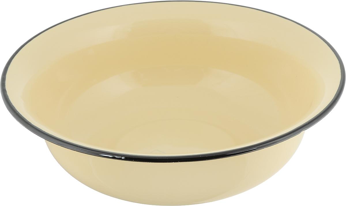 Миска Лысьвенские эмали, цвет: желтый, 4 л. С-0314/РбС-0314/Рб_желтыйМиска Лысьвенские эмали изготовлена из высококачественной стали с эмалированным покрытием. Такое покрытие устойчиво к перепадам температуры и механическим воздействиям, а так же к воздействиям окружающей среды.Такая миска пригодится на любой кухне и поможет вам в приготовлении пищи, замешивании теста, мариновании и многом другом. Можно мыть в посудомоечной машине.