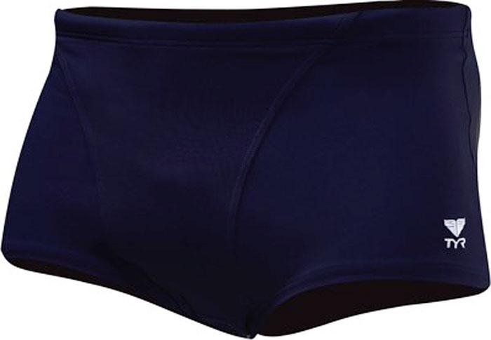 Плавки мужские Tyr Solid Brites Trunk, цвет: темно-синий. ESTSOD7A. Размер 32 (44/46)ESTSOD7AШорты плавательные TYR Trunk выполнены из высококачественного легкого материала (DurafastOne), устойчивого к воздействию хлора и ультрафиолетового излучения. Благодаря этому плавки надолго сохраняют форму и не изнашиваются. Ткань очень эластична и идеально садится по фигуре. Модель прекрасно подходит как для профессиональных спортсменов, так и для любителей. Средняя длина по боковому шву 22 см.