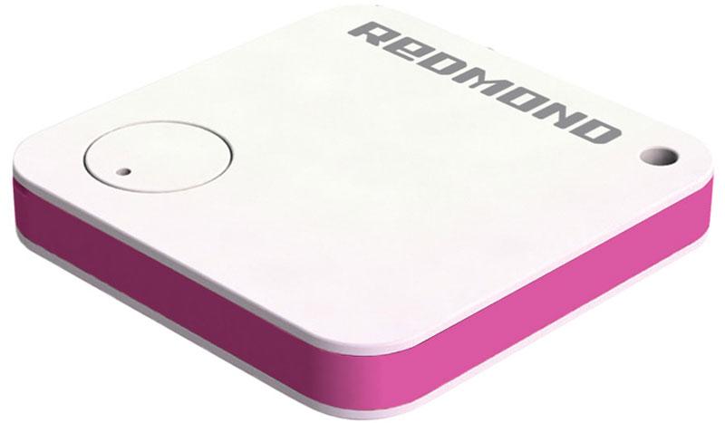 Redmond RFT-08S, White Pink умный трекерRFT-08S (белый)Умный трекер Redmond RFT-08S - инновационное и стильное устройство, которое обеспечивает сохранностьмелких вещей, дорожных сумок, а также безопасность маленьких детей и домашних животных. Достаточнозакрепить компактное устройство на ключах, ноутбуке, женской сумочке, собачьем ошейнике или положить его вкарман одежды, чтобы отслеживать положение трекера на карте в приложении Ready for Sky.Данная модель обладает следующими функциями: Подача сигнала со смартфона - эта функция поможет быстрее найти ключи или другие личные вещи; Отправление уведомлений при начале движения - можно без опаски отходить от ноутбука в кафе или другихобщественных местах; Сигнализация при выходе из зоны действия Bluetooth - во время прогулки легко узнать, например, что собакадалеко убежала от вас.Умный трекер позволит также управлять затвором камеры на смартфоне. Вы можете использовать его и вкачестве термометра - для определения температуры в помещении.Протокол передачи данных: Bluetooth v4.0Светодиодный индикатор Дальность связи в здании: до 15 м Дальность связи на улице: до 50 м Поддержка ОС: iOS - 8.0 или выше; Android - 4.3 Jelly Bean или выше
