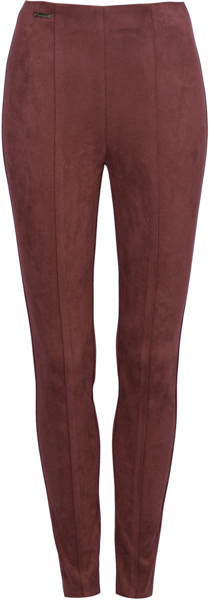 Брюки женские Love Republic, цвет: бордовый. 8151116716_80. Размер 42 брюки для дома женские love republic цвет бежевый 818063210 62 размер xs 40 42