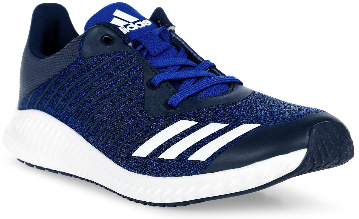 Кроссовки для мальчика adidas Fortarun K, цвет: синий. BA9489. Размер 37 кроссовки adidas кроссовки дет спорт durama k cblack ftwwht sunglo