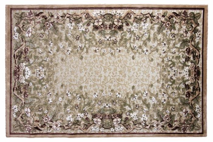 Ковер Oriental Weavers Арена, цвет: светло-бежевый, 120 х 180 см. 361Y15131Сочетание крупного рисунка на шинилле - это последние тенденции ковровой моды. Ковер от известной египетской фабрики Oriental Weavers подойдет для современных и классических интерьеров.