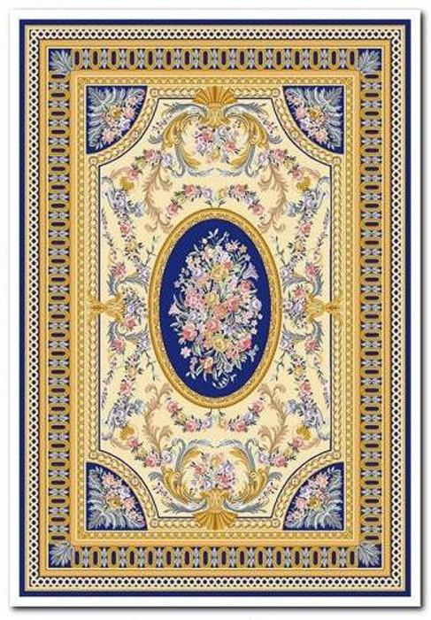 Ковер Oriental Weavers Афины, цвет: синий, 120 х 180 см. 4 B