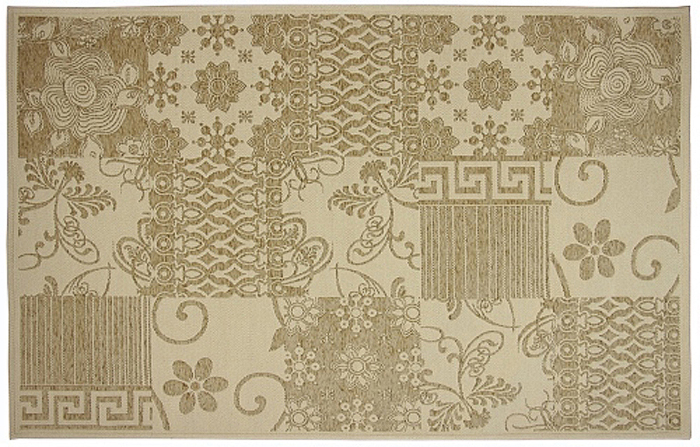 Коврик прикроватный Oriental Weavers Дрим, цвет: оливковый, 80 х 165 см. 5 W