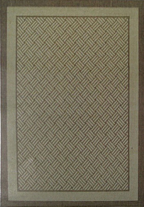 Коврик прикроватный Oriental Weavers Давн, цвет: коричневый, 80 см х 160 см. 1828 D