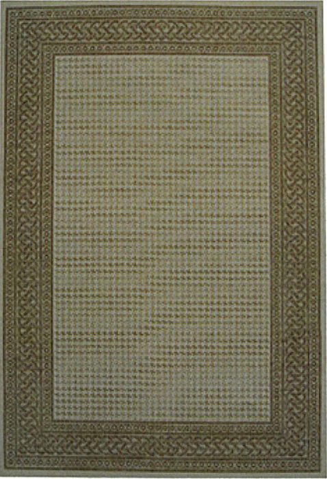 Коврик прикроватный Oriental Weavers Давн, цвет: коричневый, 80 см х 160 см. 522 D