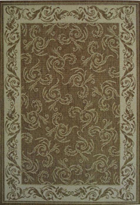 Коврик прикроватный Oriental Weavers Давн, цвет: коричневый, 80 х 160 см. 602 N