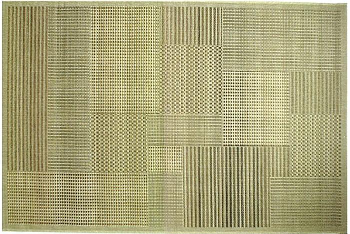 Ковер Oriental Weavers Энжи (Фом), цвет: светло-коричневый, 120 х 180 см. 881 D20-12156Ковер-циновка на резиновой основе - это практичное и современное решение не только для прихожих, но и веранд.