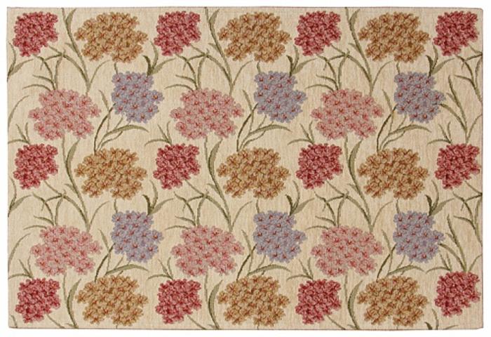 Коврик прикроватный Oriental Weavers Санлайт, цвет: коричнево-красный, 75 х 120 см. 307 W
