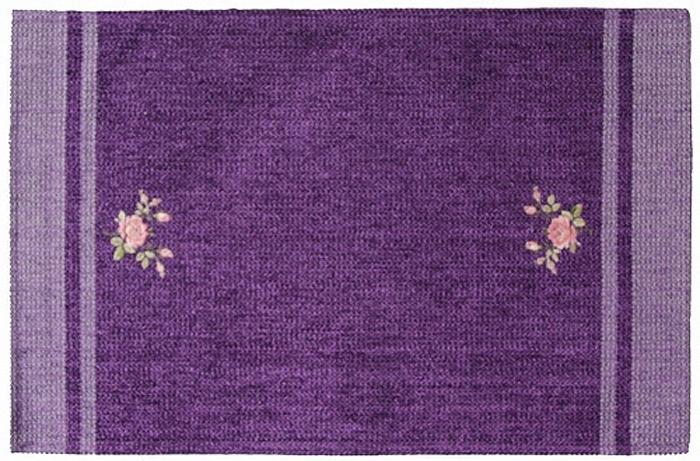 Коврик прикроватный Oriental Weavers Милано, цвет: фиолетовый, 55 х 85 см. 9 M