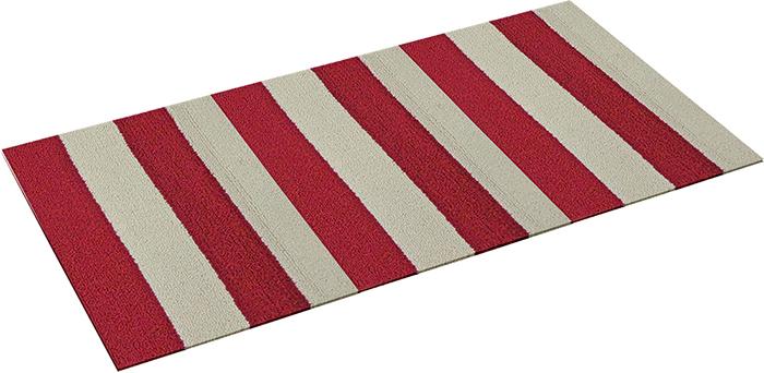 Коврик Vortex Dublin, цвет: красный, белый, 50 х 80 см22437Ворс коврика Vortex изготовлен из 100% полипропилена. Коврик оснащен выполненной из латекса подложкой,которая препятствует скольжению.Коврик Vortex гармонично впишется в интерьер вашего дома и создастатмосферу уюта и комфорта. Изделие отлично подойдет как для использования вдоме, так и снаружи.