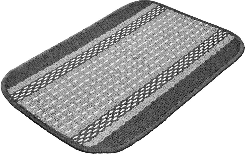 "Коврик Vortex ""Madrid"", цвет: серый, 40 х 60 см"