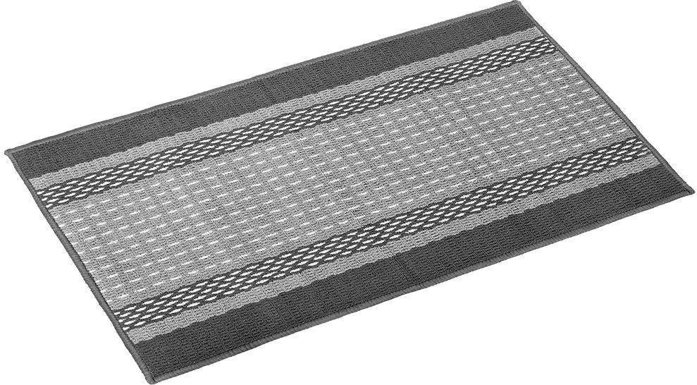 Коврик Vortex Madrid, 50х80 см, цвет: серый коврик дорожка vortex provance основа латекс