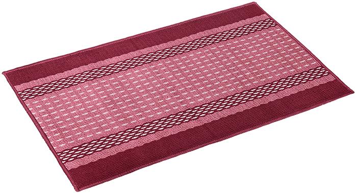 Коврик Vortex Madrid, 50х80 см, цвет: темно-бордовый22445Ворс - 100% Полипропилен. Подложка - 100% латекс.