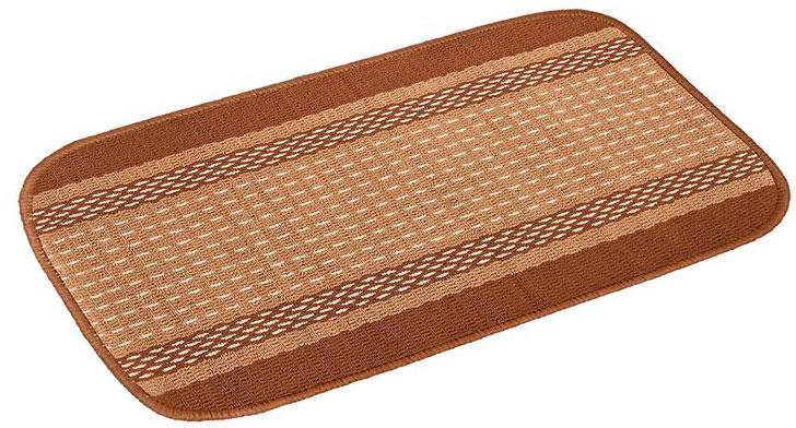 Коврик Vortex Madrid, цвет: темно-коричневый, 50 х 80 см22446Ворс коврика Vortex изготовлен из 100% полипропилена. Оноформлен ярким рисунком. Коврик оснащен выполненной из латекса подложкой,которая препятствует скольжению.Коврик Vortex гармонично впишется в интерьер вашего дома и создастатмосферу уюта и комфорта. Изделие отлично подойдет как для использования вдоме, так и снаружи.