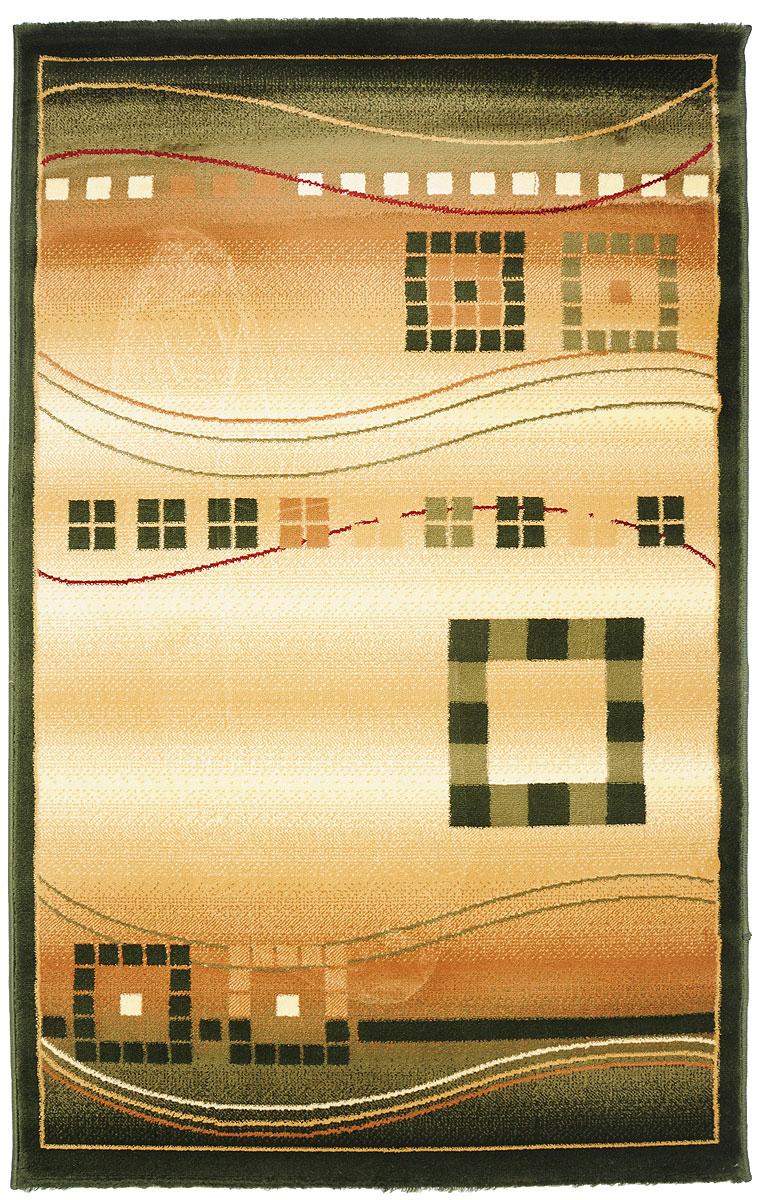 Ковер Kamalak Tekstil, прямоугольный, 100 x 150 см. УК-0077УК-0077Ковер Kamalak Tekstil изготовлен из прочного синтетического материала heat-set, улучшенного варианта полипропилена (эта нить получается в результате его дополнительной обработки). Полипропилен износостоек, нетоксичен, не впитывает влагу, не провоцирует аллергию. Структура волокна в полипропиленовых коврах гладкая, поэтому грязь не будет въедаться и скапливаться на ворсе. Практичный и износоустойчивый ворс не истирается и не накапливает статическое электричество. Ковер обладает хорошими показателями теплостойкости и шумоизоляции. Оригинальный рисунок позволит гармонично оформить интерьер комнаты, гостиной или прихожей. За счет невысокого ворса ковер легко чистить. При надлежащем уходе синтетический ковер прослужит долго, не утратив ни яркости узора, ни блеска ворса, ни упругости. Самый простой способ избавить изделие от грязи - пропылесосить его с обеих сторон (лицевой и изнаночной). Влажная уборка с применением шампуней и моющих средств не противопоказана. Хранить рекомендуется в свернутом рулоном виде.
