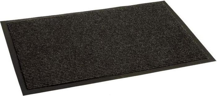 Коврик придверный InLoran Комфорт, влаговпитывающий, ребристый, цвет: черный, 40 х 60 см20-466/40101Коврик придверный InLoran выполнен из винила и полиамида. Изделие имеет иглопробивной ворс, который эффективно удерживает грязь и влагу (на 1квадратный метр до 5 кг). Такой коврик надежно защитит помещение от уличной пыли и грязи.Легко чистится и моется.