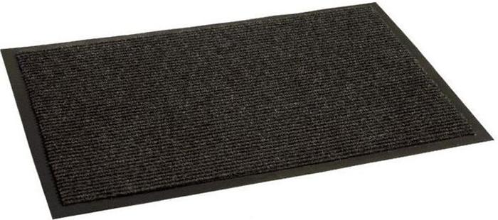 Коврик придверный In'Loran Комфорт, влаговпитывающий, ребристый, цвет: черный, 90 х 120 см видеокарта palit geforce gtx 1070 gamerock 8gb ne51070t15p2 1041g