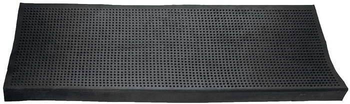 Коврик Vortex на ступеньку, цвет: черный, 25 см х 75 см коврик vortex на ступеньку цвет черный 25 см х 75 см