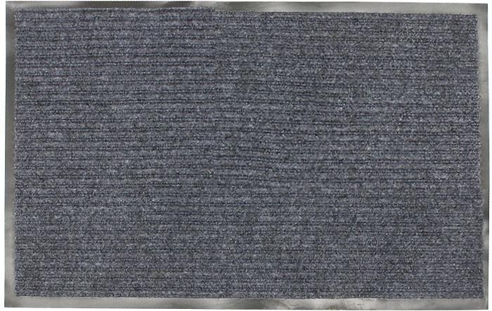 Коврик придверный Vortex, влаговпитывающий, цвет: серый, 50 х 80 см22081Придверный влаговпитывающий коврик Vortex серого цвета выполнен из ПВХ и полиэстера. Он прост в обслуживании, прочный и устойчивый к различным погодным условиям. Лицевая сторона коврика ребристая. Прорезиненная основа коврика предотвращает его скольжение по гладкой поверхности и обеспечивает надежную фиксацию. Такой коврик надежно защитит помещение от уличной пыли и грязи. Характеристики: Материал:ПВХ, полиэстер. Размер коврика:50 см х 80 см. Цвет:серый. Изготовитель:Китай. Артикул:22081.
