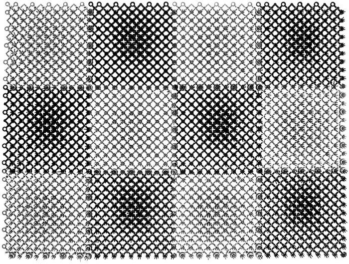 Коврик Травка, цвет: черный, серый, 42 х 56 см23005Коврик Травка выполнен из полиэтилена и состоит из 12 секций. Коврик предназначен для защиты помещений от уличной грязи. При этом сам коврик всегда сохраняет эстетичный и опрятный вид, сколько бы пыли и грязи на нем не было.