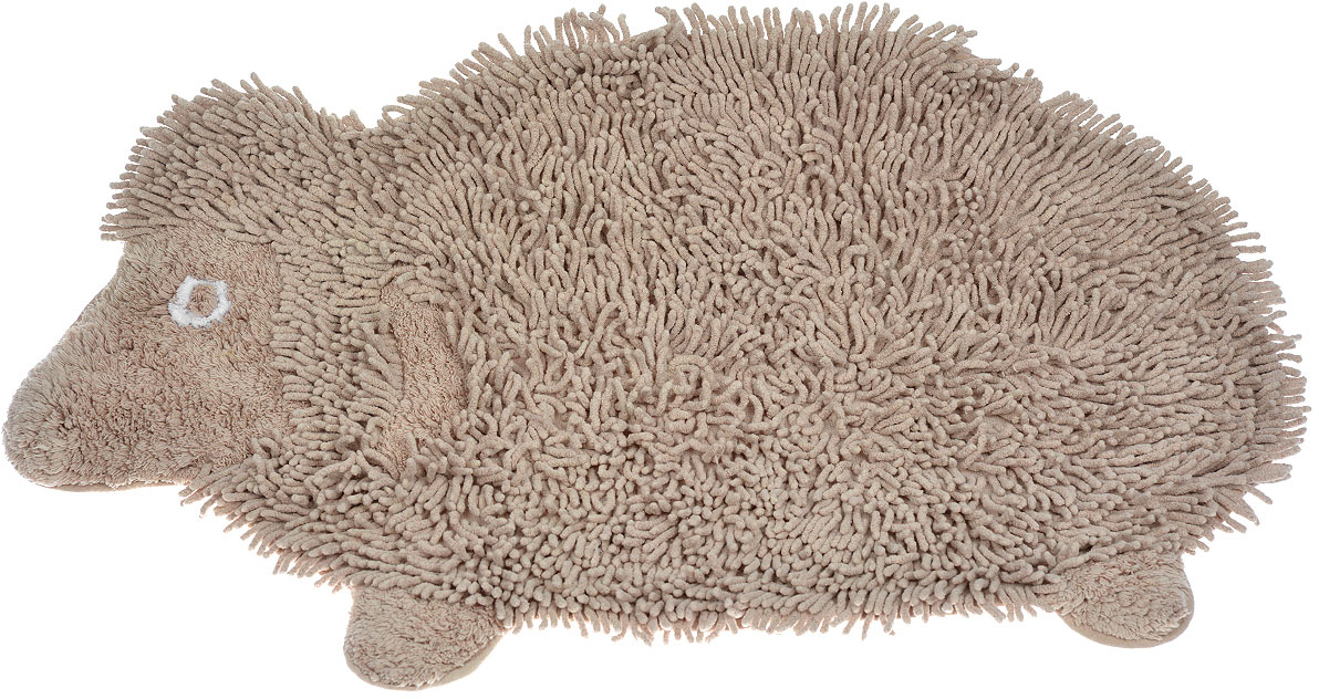 Коврик Arloni Овечка Долли, цвет: бежевый, 50 см х 80 см1209Коврик Arloni Овечка Долли изготовлен из экологически чистого материала - натурального хлопка. Выполнен в виде забавной овечки. Коврик мягкий и приятный на ощупь, имеет мягкий длинный ворс. Отличается высокой износоустойчивостью, хорошо впитывает влагу, не теряет своих свойств после многократных стирок.Коврик Arloni гармонично впишется в интерьер вашего дома и создаст атмосферу уюта и комфорта. Идеальный вариант для ванной или детской комнаты.Изделие отличается высоким качеством пошива и стильным дизайном, а материал прекрасно переносит большое количество стирок. Легко стирается в стиральной машине или вручную.